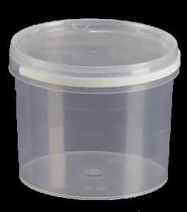 emballage plastique, pot polypropylène