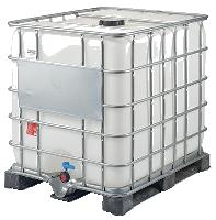 conteneur avec cage métallique